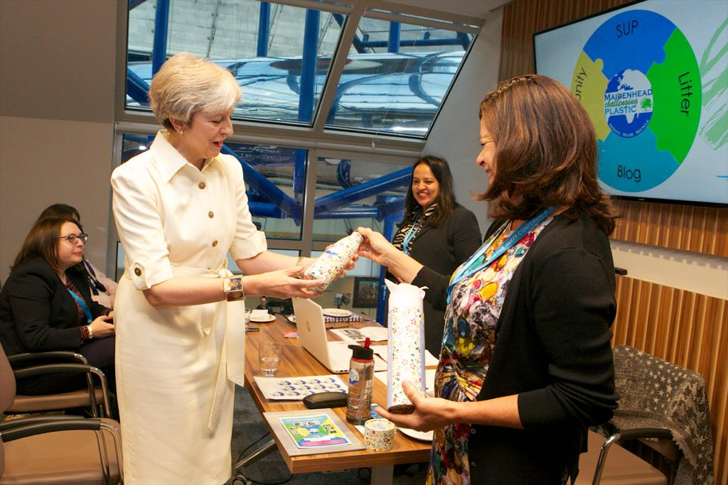 Prime Minister shows her support for Maidenhead Matters